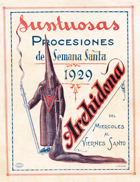 Revista Semana Santa de Archidona 1929