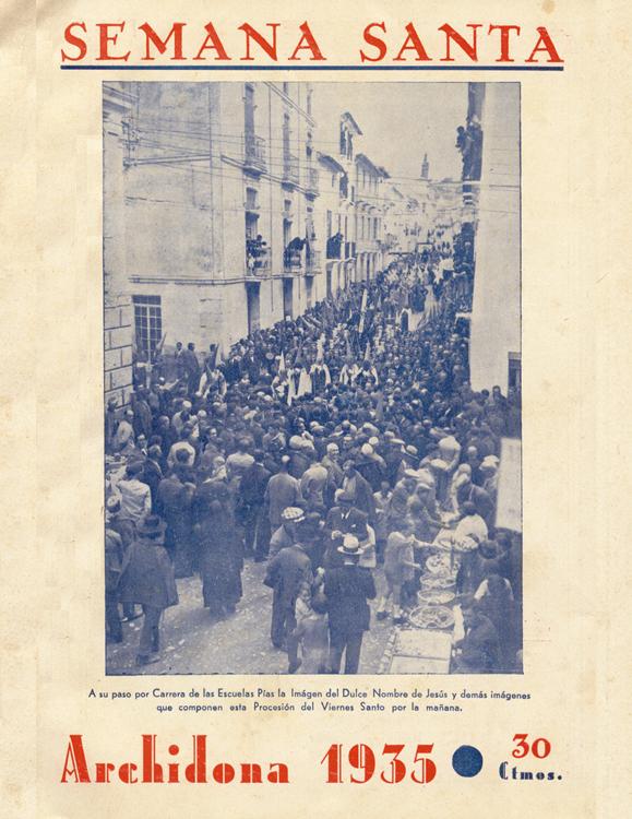 Revista Semana Santa de Archidona 1935