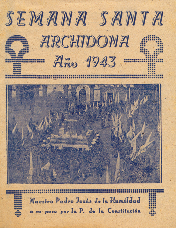 Revista Semana Santa de Archidona 1943