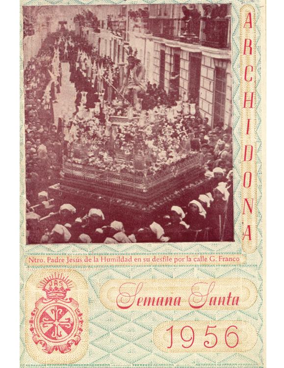 Revista Semana Santa de Archidona 1956